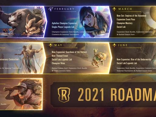 Roadmap & New Region Revealed For Legends of Runeterra Future