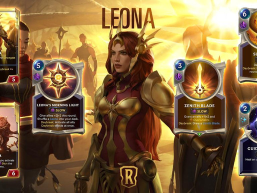 Legends Of Runeterra: Leona Might Be For Yasuo, But She's Not My Ray Of Hope