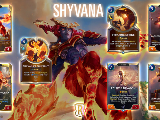 Legends Of Runeterra: Shyvana Levels With A Bang