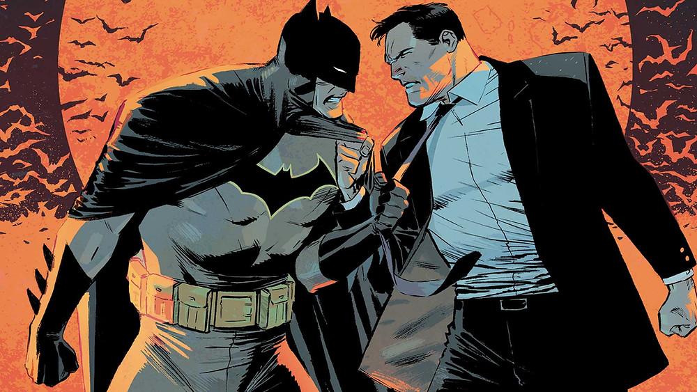 Batman vs Bruce Wayne