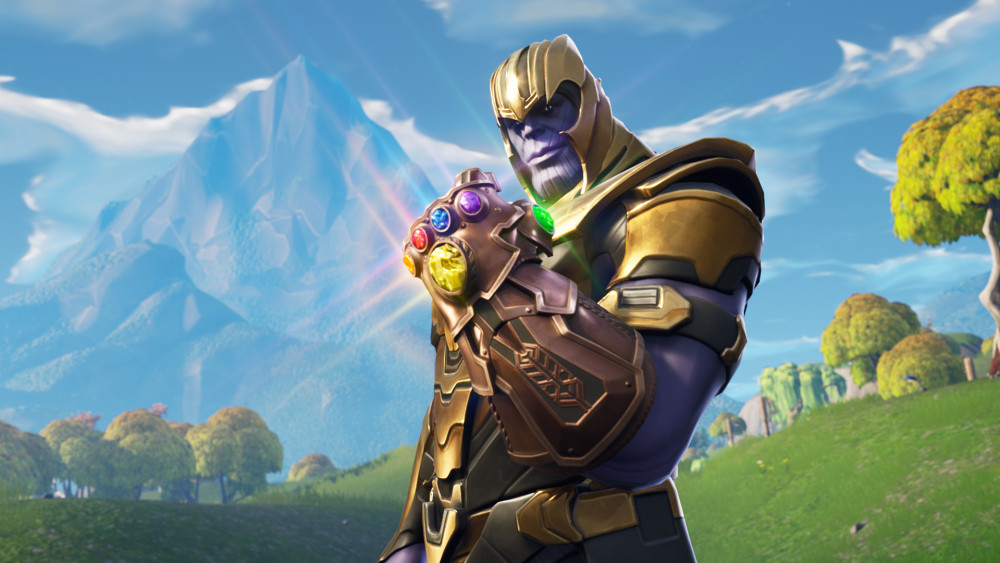 Thanos And Fortnite