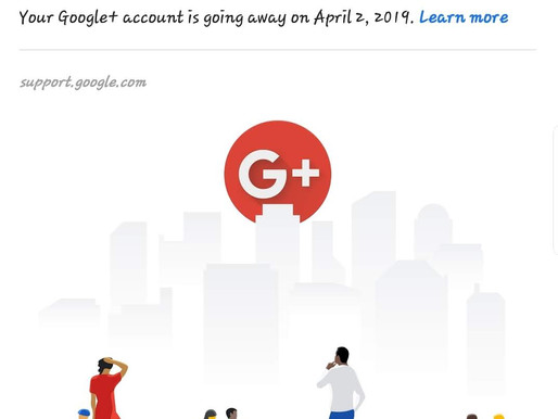 Google+ Finally Gets An Expiration Date...So Please Use By 04.02.2019
