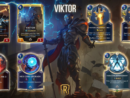 Legends Of Runeterra: Viktor Is Created Perfection