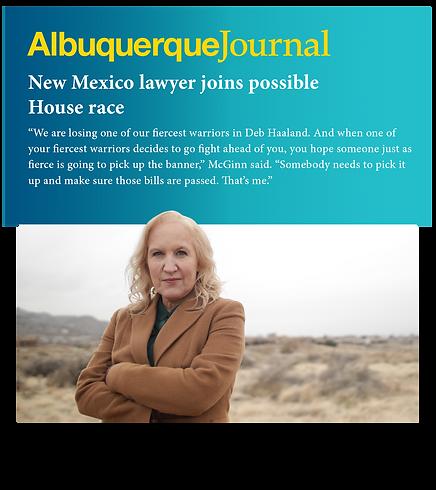 McGinn_IntheNews_AlbuquerqueJournal.png