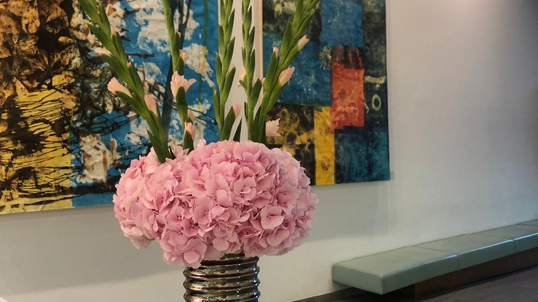 Giraffe Flowers - Corporate Floristry 21