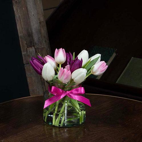 Little Vase of Tulips