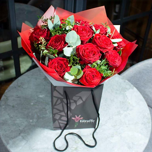 Red Roses Bouquet (various sizes)