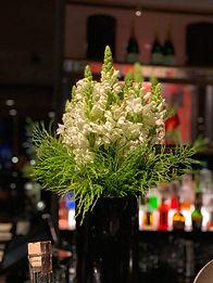 Luxury Restaurant Flowers by Giraffe Flowers Manchester