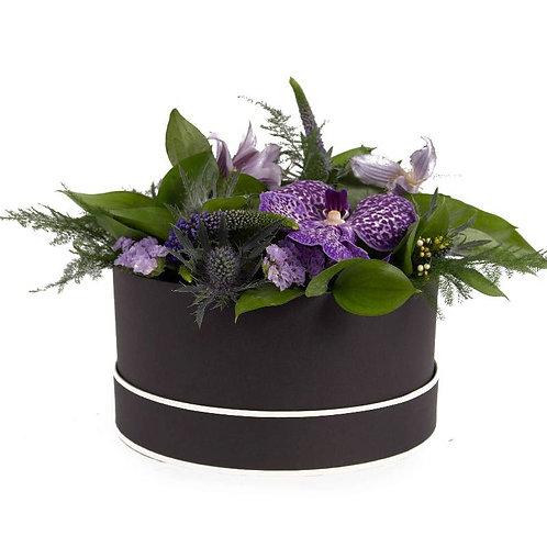 Purple Hat Box
