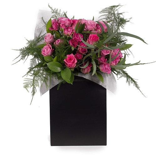 Mixed Pink Rose Bouquet