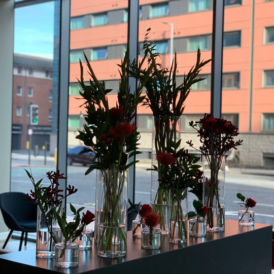 Giraffe Flowers - Corporate Floristry 13