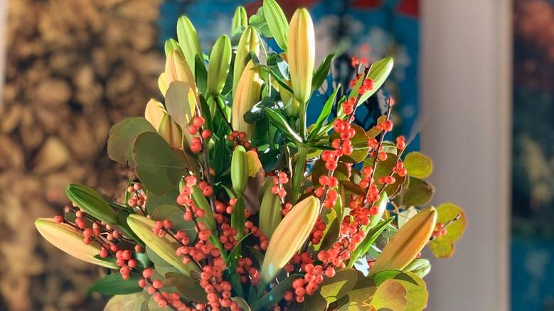 Giraffe Flowers - Corporate Floristry 7.
