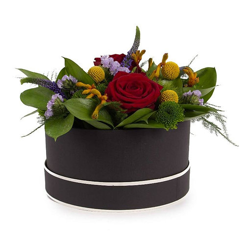 Vibrant Hat Box