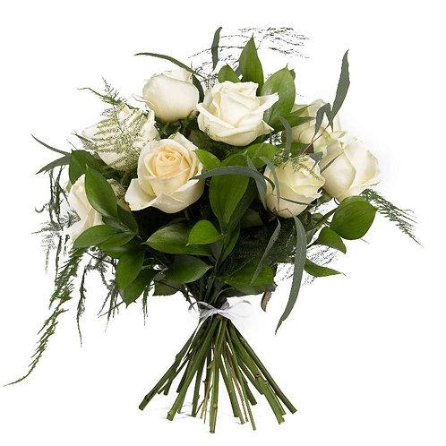 White Roses Bouquet (various sizes)