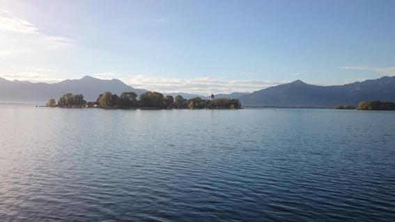 Fraueninsel am Morgen