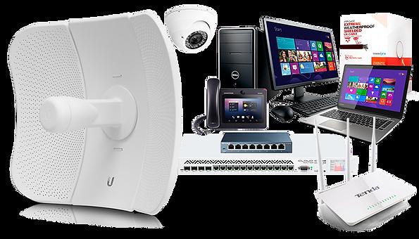 Equipos Ubiquiti, Mikrotik, Teda, Computadoras, Laptops, RM Tech