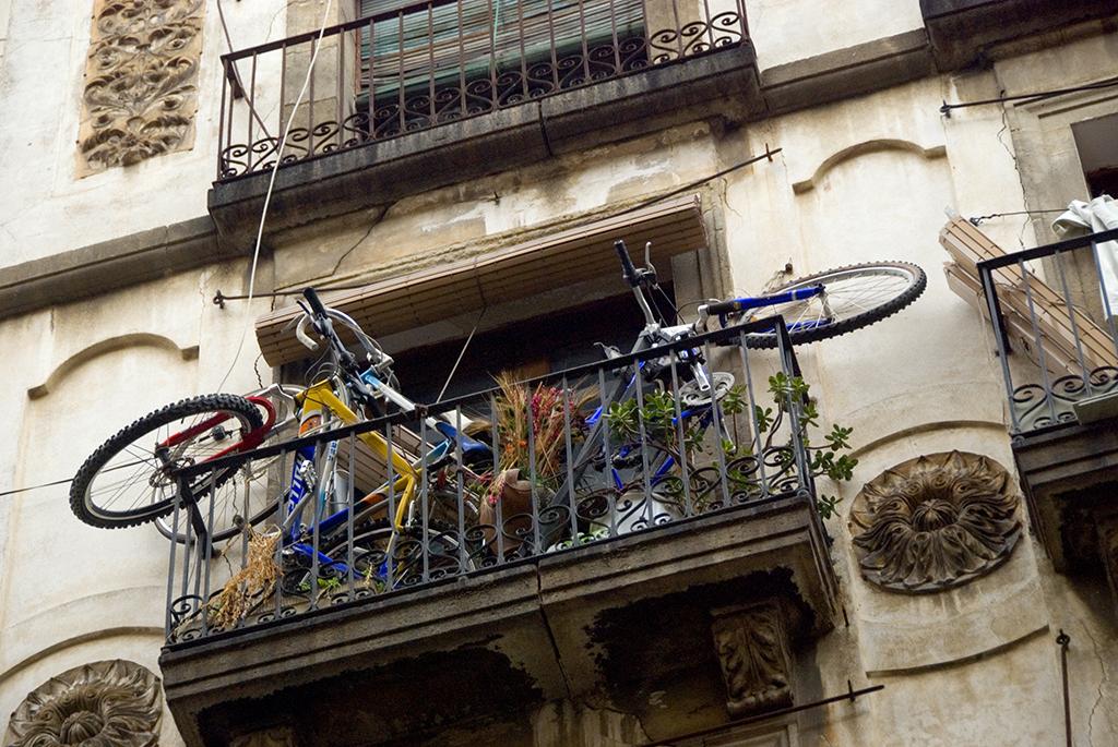 Balcony bikes, Barcelona.jpg