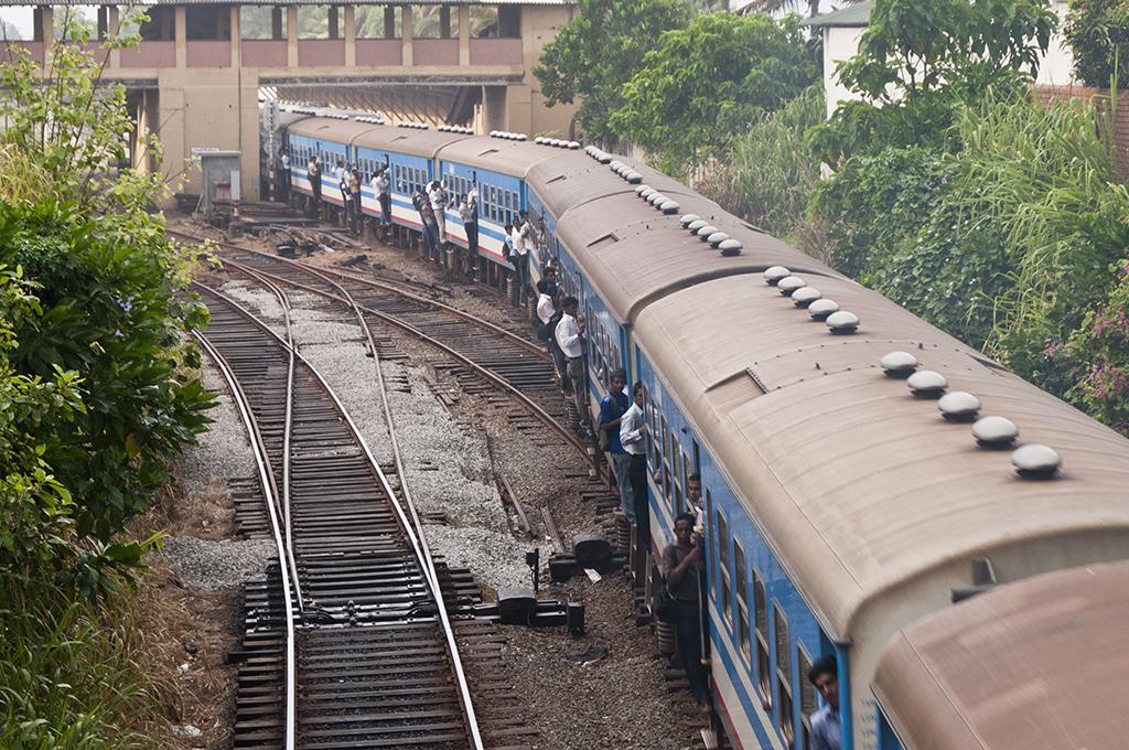 Loaded train