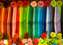 Spanish shawls, Seville