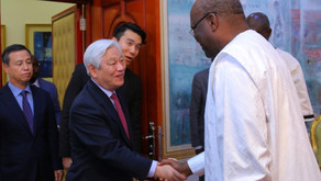 [Burkina Faso] President Kabore meets Pastor Ock Soo Park