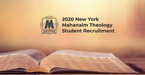 New York Mahanaim Theology Student Recruitment