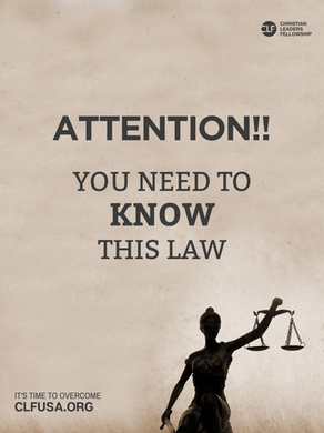 Attention! You need to know this law