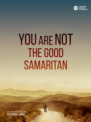 You are not the Good Samaritan