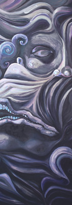"2019 36""x48""  Oil Paint on Canvas 2019"