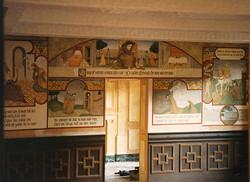 The Henryson Mural. (Detail)
