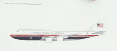 Proposed Air Force One livery