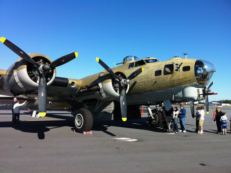 Vintage World War II-era B-17 Flying Fortress crashes in Connecticut