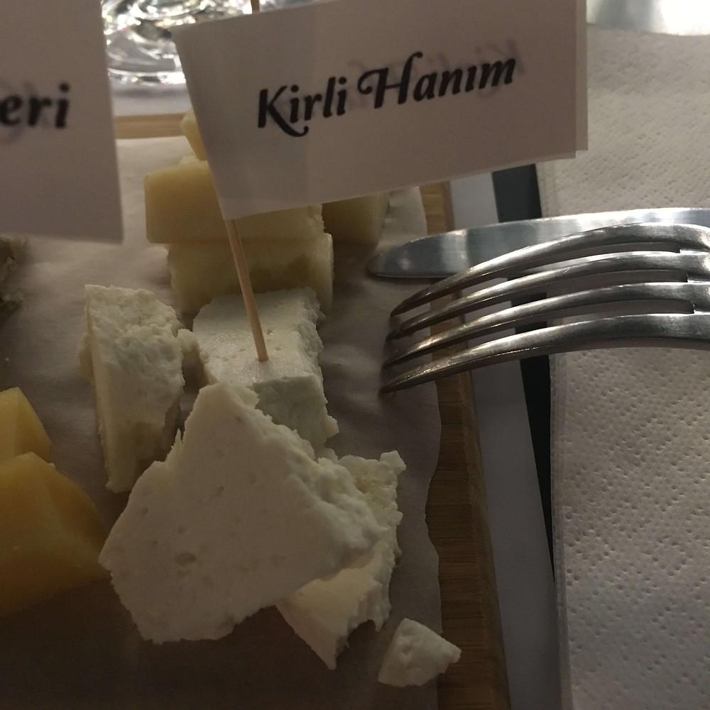 Kirli Hanım peynir somelyer
