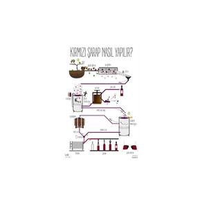 Kırmızı şarap nasıl yapılır?