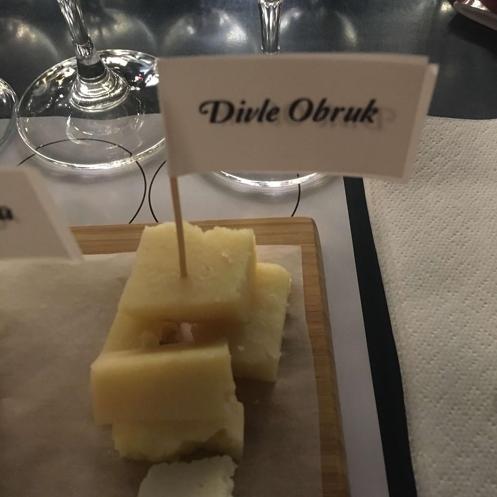Divle Obruk peynir somelyer
