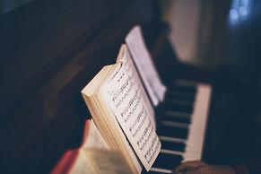 Piyano için Müzik Notaları