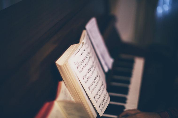 Nuty na fortepian