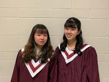 一轉眼高三的同學都已經在加拿大拍畢業照了~