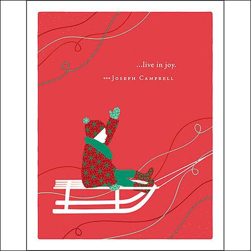 Christmas Card  #6541