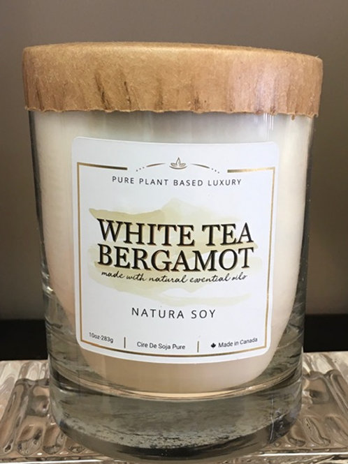 White Tea Bergamot - Natura Soy - 10 oz