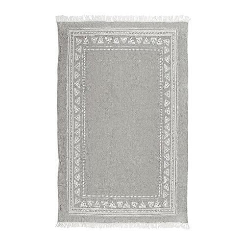 Turkish Towel - Devon - Light Grey