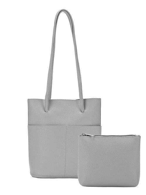 Grey purse