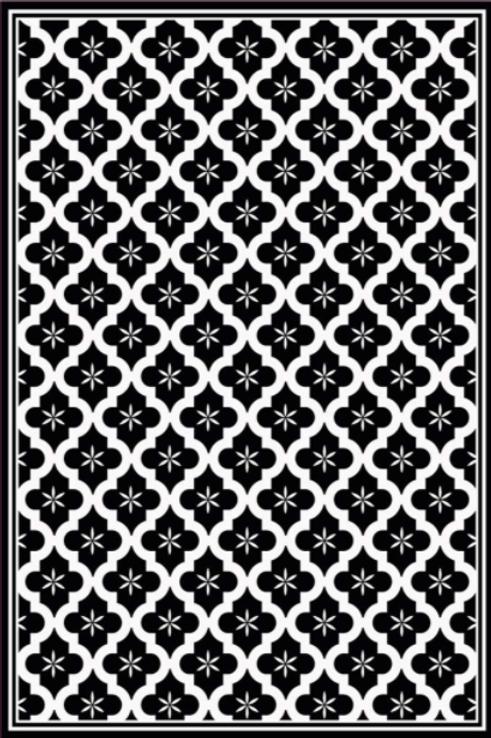 Vinyl floor mat 2'x3'   101-152