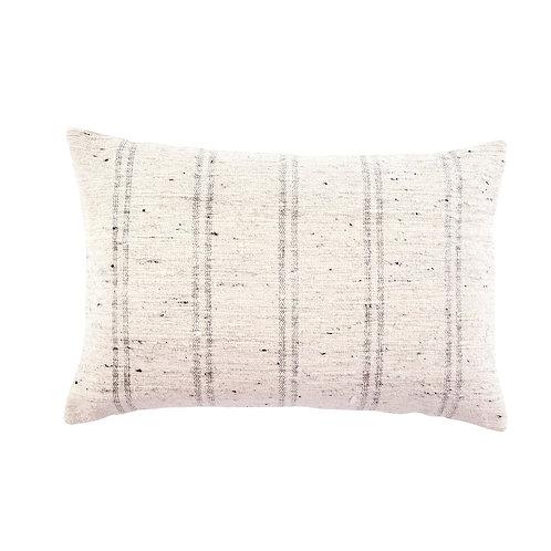 """Pillow - 'Luca' grey 16""""x24"""""""