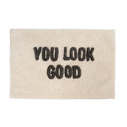 "Bath Mat ""You Look Good"""