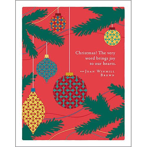 Christmas Card   #7274