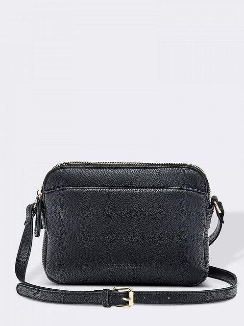 """Cici"" crossbody purse - BLACK"