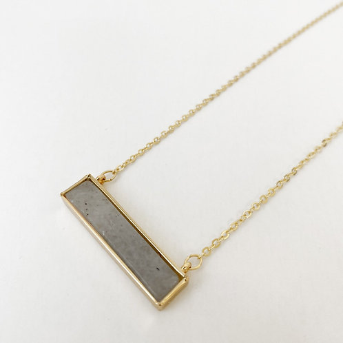 Necklace - grey