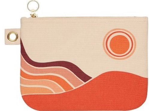 Zippered Pouch Solstice