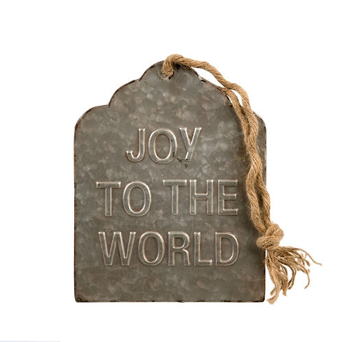 """""""Joy to the World"""" sign"""