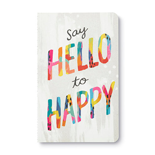 "Journal  ""Say Hello to Happy"""